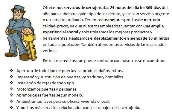 cerrajeros en Torrevieja 24 horas baratos